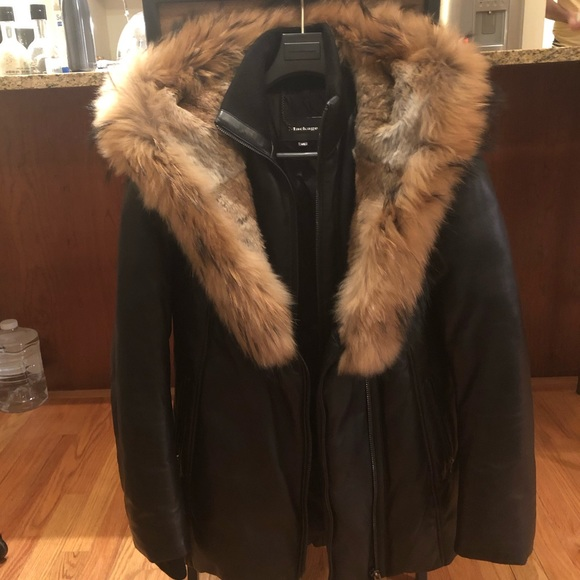 582480ebb59 Mackage Jackets & Coats | Ingrid Leather Down Jacket With Fur Size M ...